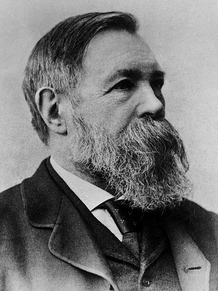 Engels words on the industrial stagnation of Britain could have been written today Image public domain