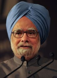 Prime Minister Manmohan Singh in WEF 2009 cropped