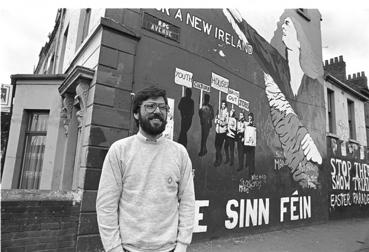 Gerry Adams Image Flickr Burns Library