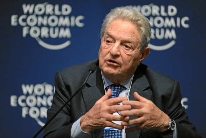 Soros Image World Economic Forum