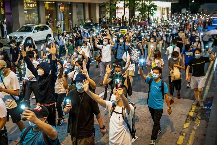 香港勞工階級握有的力量仍然是巨大的,因為他們仍然可以是造就在全中國推翻中共政權的導火線。//圖片來源:Studio Incendo