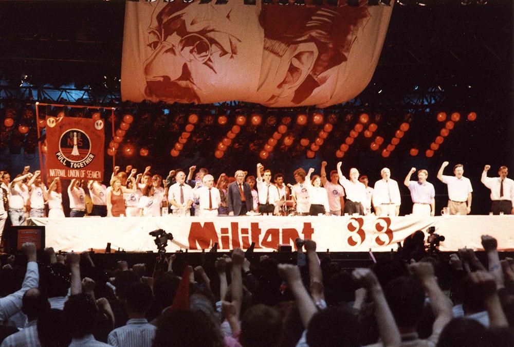 英国战斗趋势于1988年举办的集会