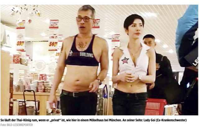 King crop top Image Political Prisoners in Thailand