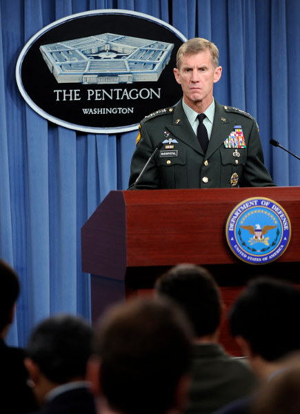 General McChrystal. Photo by Master Sgt. Jerry Morrison.